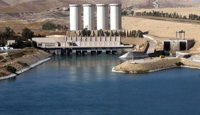 1,000 Soldiers Protecting Mosul Dam from ISIS Threats