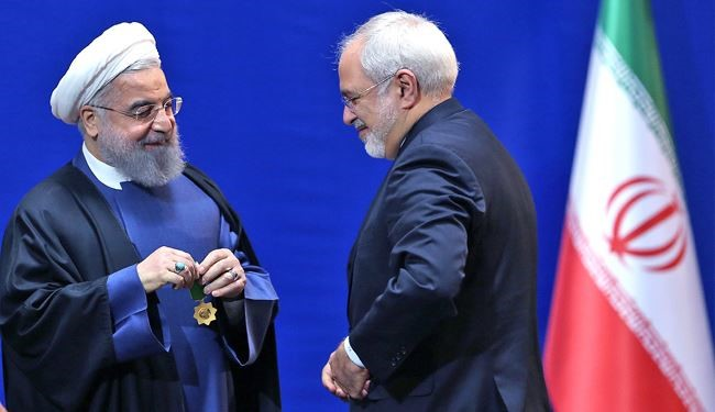 President Rouhani Bestows Medals on Nuclear Negotiating Team