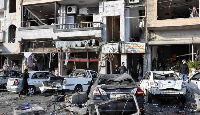 Car Bomb Blast Kills at Least 8 in Damascus in Syria