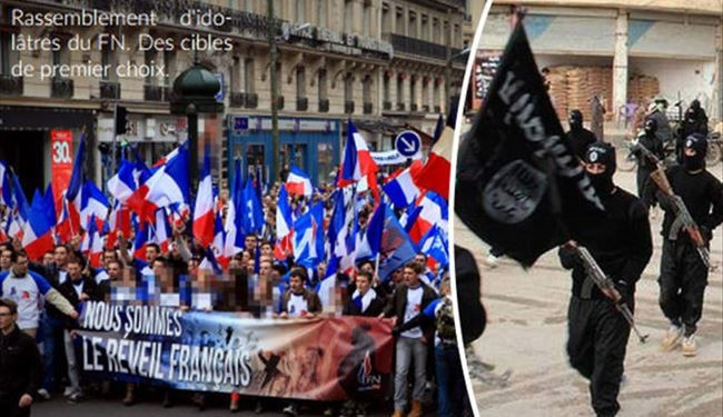 ISIS Threatens to Attack France AGAIN Declaring Far-Right National Front 'Prime Target'