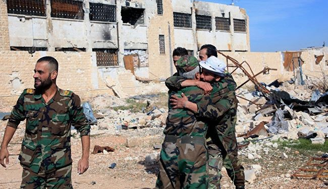 Syrian Army Expects to Liberate Aleppo Soon: Syrian Govt.