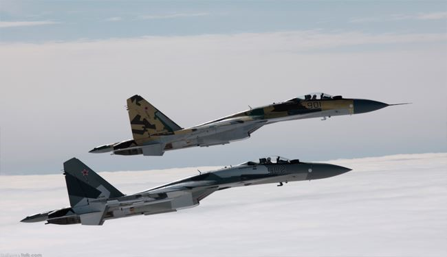 Russian Air Force Demolishes 1'900 Terrorist Positions in Syria over a Week