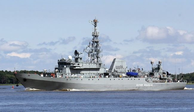 Russia Missile Corvette 'Zeleny Dol' Arrives at Syria Port of Tartus