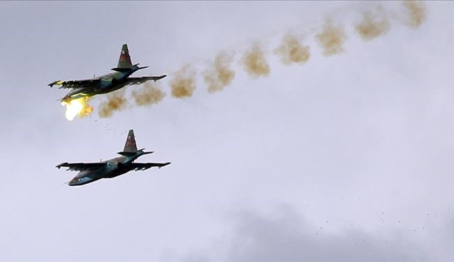 Russian, Syrian Air Forces Conduct 459 Sorties against 1589 ISIS Targets Since 16 Feb.