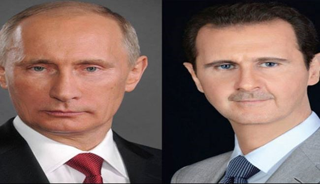 Assad, Putin Stress Importance of Combating Terrorists