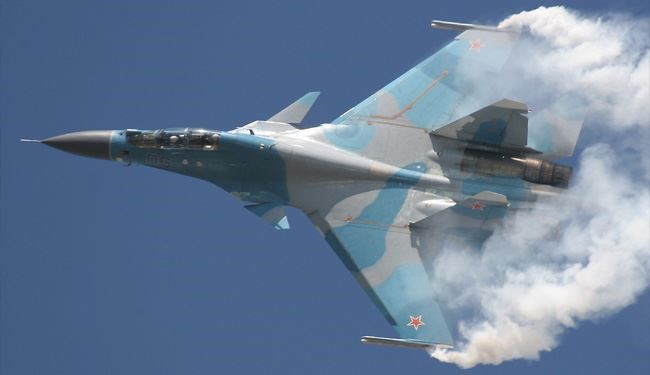 Russia Fighter Jets Target Militants' Positions in Aleppo in Syria