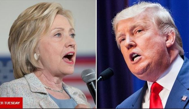 Trump and Clinton Big Winners of US Super Tuesday