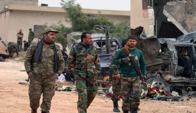 Syrian Army Pushes back ISIS Militants from More Areas in Aleppo