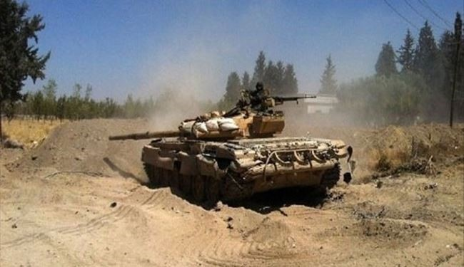 Syrian Army Destroys ISIS Military Vehicle in Sweida, Kills Militants