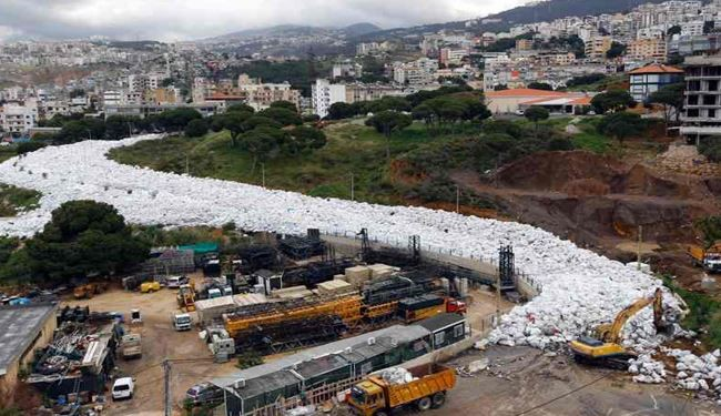 Beirut Trash Clean-up Begins as Critics Cry Foul