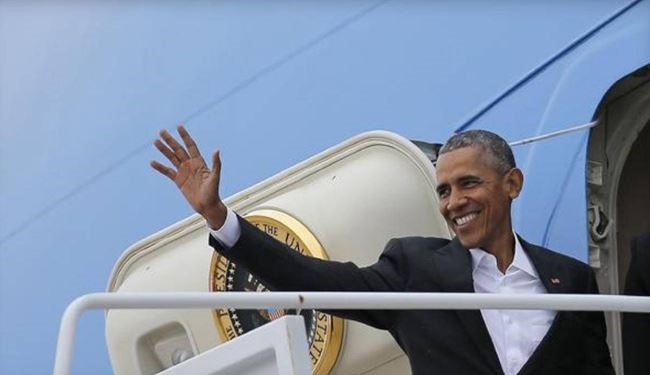 PHOTOS: US President Obama Arrives in Cuba for Historic Visit