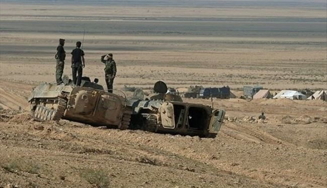 Syrian Army Units Cut Off ISIS Palmyra-Quarayatayn Supply Road