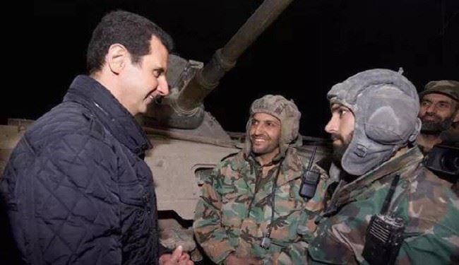 Battle, Victory Only Way to Defeat Extremism: Syrian President Al-Assad