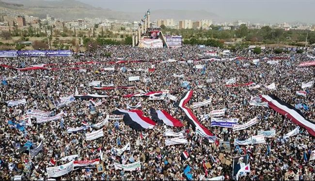 Thousands of Yemenis Hold Nationwide Rallies against Saudi Arabia Aggression