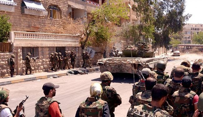 Syrian Army Troops Advance into ISIL's Heartland in Eastern Hama