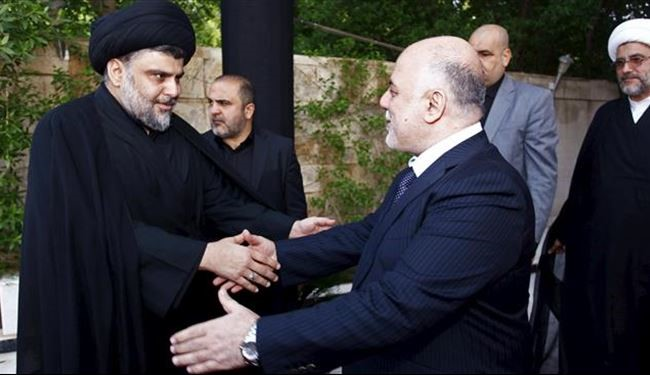 Iraq Cleric Sadr Meets Prime Minister Abadi before Deadline