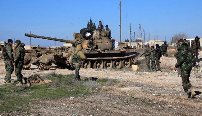 Syrian Army Units Moving towards Jisr Al-Shughour in Idlib after Palmyra Victory
