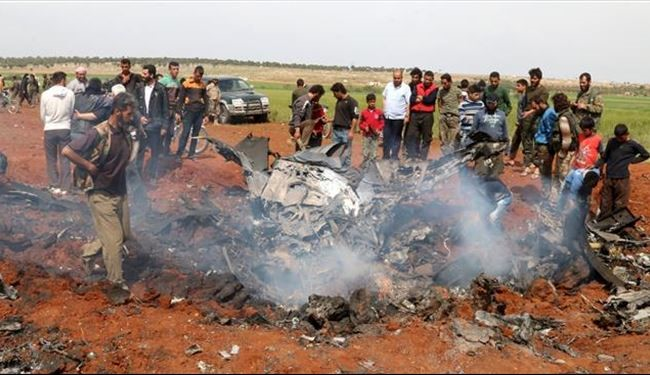 Militants Shoot down Syrian Warplane in Northern Aleppo Province