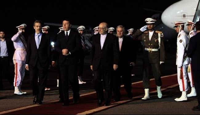 Italy Prime Minister Arrives in Iran with Large Delegation