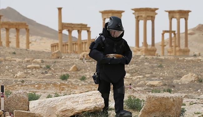 3,000 Explosives Defused by Russian Deminers in Syria's Palmyra: Russian DM Gen