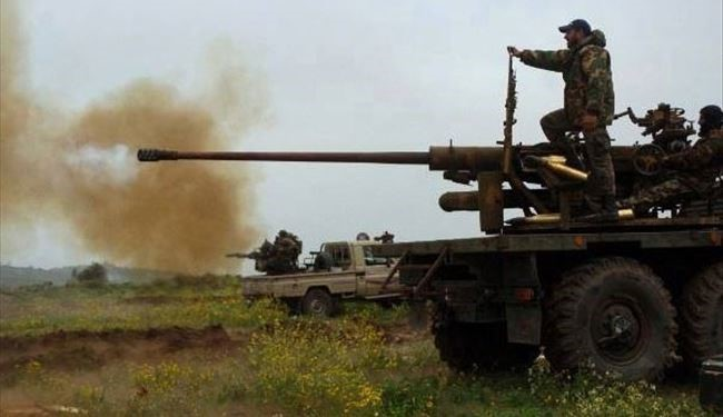 Syrian Army Attacks Terrorists in Ghouta, Dumayr in Damascus Countryside