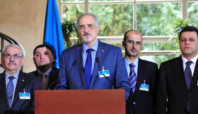 Al-Jaafari & De Mistura Discussed Netanyahu's Provocative Act on Golan