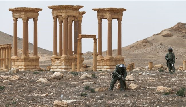 Biggest ISIS Arsenal with 12,000 Explosive Devices Discovered in Palmyra