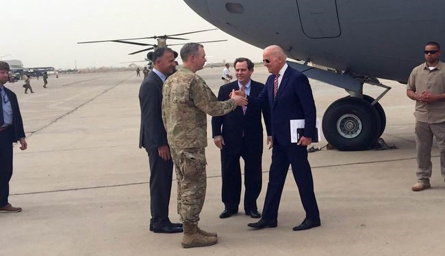 US Vice President Biden on Surprise Visit to Iraq over War against ISIS