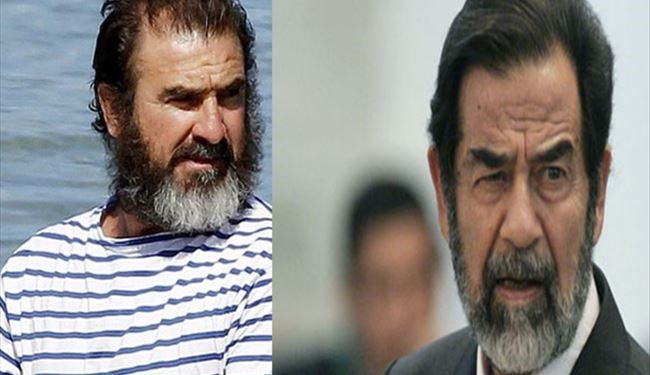 Which One Is Saddam Hussein and Which Eric Cantona?!