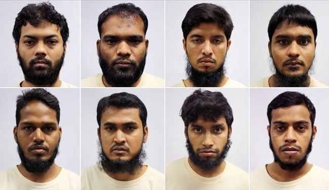 Singapore Arrests 8 Bangladeshis for Alleged ISIS-Related Terror Plot
