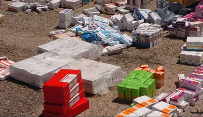 25 Tons Turkey Medical Supplies For ISIS Captured By Syrian Army in Aleppo