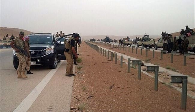 PICS: Iraq Jordan Road Liberated; Border Crossing Will Be Open Soon