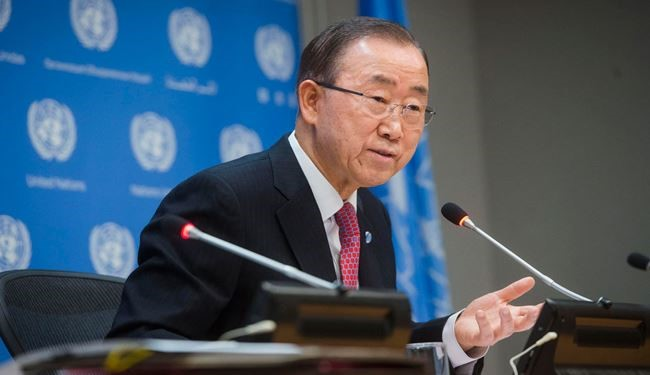 Ban Ki-moon Urges World Powers to Press for Syria Peace Talks