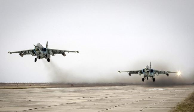 Russian Jets Ready to Provide More Aerial Support for Ground Operations across Syria