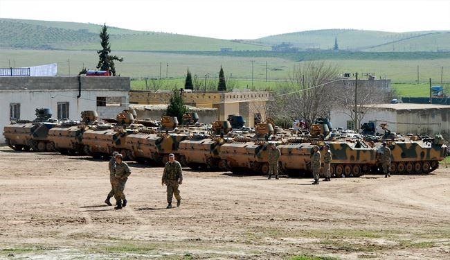 Turkey's Army Enters Syria's Northeastern Territories
