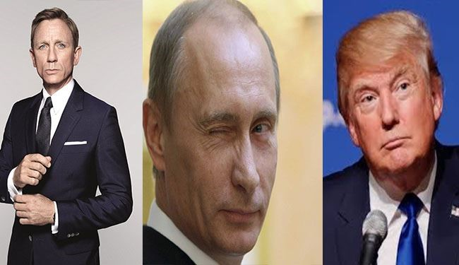 PHOTOS: Who You Want to Be the Next 007? Putin or Trump for Bond?