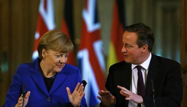 Germany's Merkel Says Britain Will Be Stronger within EU