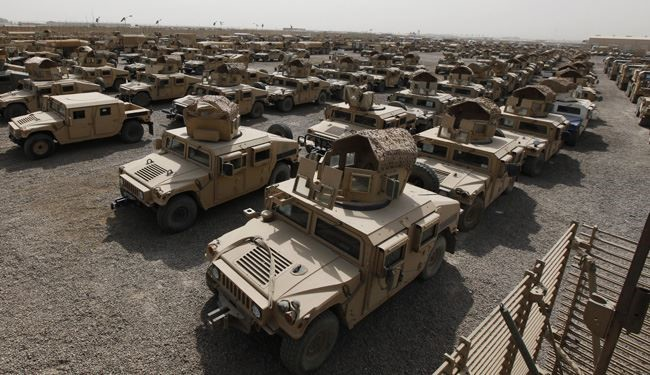 American Humvees Perfect Vehicle for ISIS Bombs!