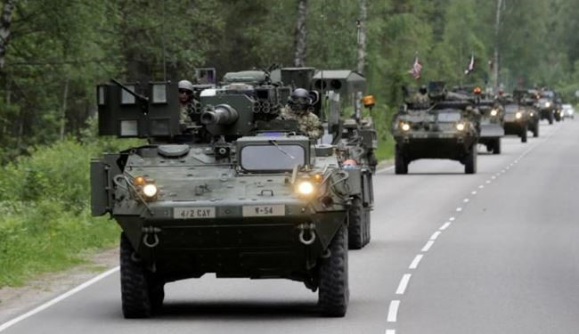 NATO Launches War Games in Latvia in Baltic Region near Russia Borders