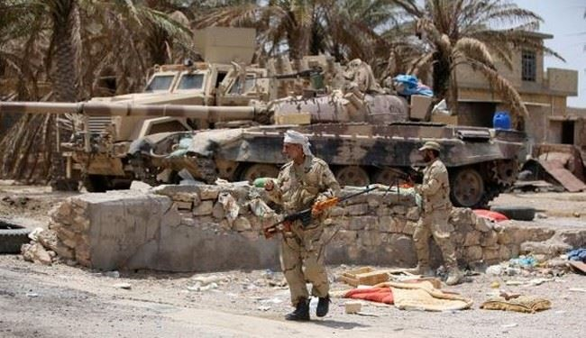 Iraqi Forces Pound ISIS Communications Headquarters in Southern Fallujah