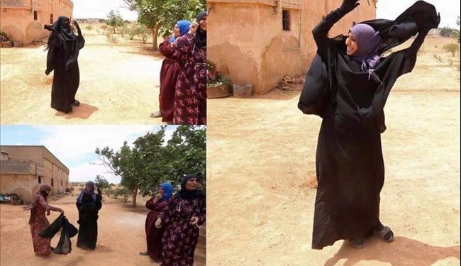 PHOTOS: Iraqi Women UnusualReact after Getting Rid of ISIS and Mandatory Coverage