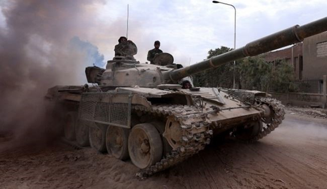 Syrian Army Troops Push Militants back from more Grounds Southwest of Damascus