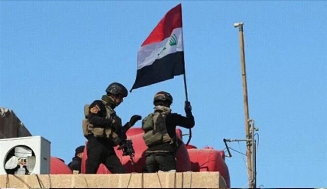 Iraq Forces Retake Fallujah government HQ, Puts Iraqi Flag on Top of Building