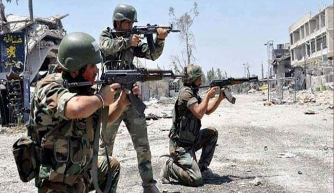 Syrian Army Forces Repulse ISIS Attack near Ancient Palmyra in Homs Province