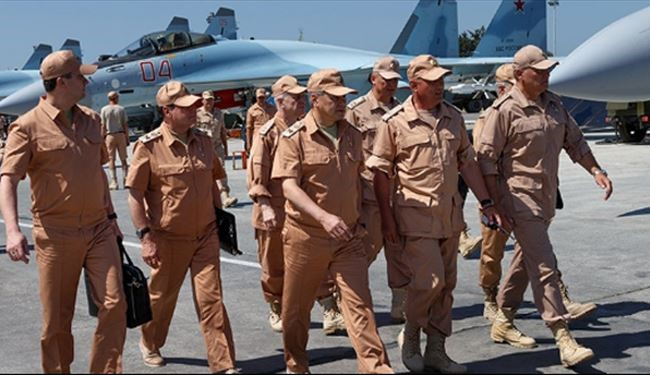 Russian Defense Minister Visits Hmeimim Airbase in Lattakia