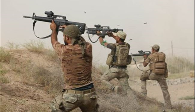 Latest Pictures of Street Clashes Between Iraqi Forces and ISIS in Fallujah + PHOTOS