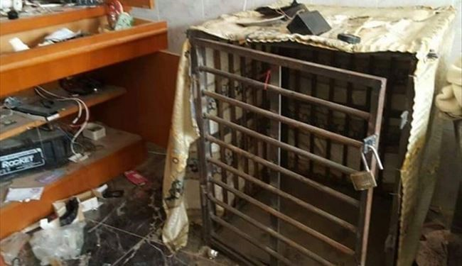 PHOTOS: Iraqi Forces Discover Prisons of ISIS Terrorists in Fallujah City
