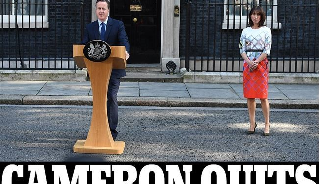 David Cameron Quits After Political Earthquake of Britain Brexit
