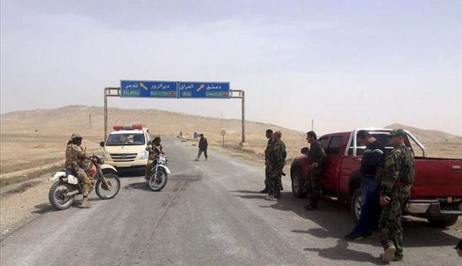 Syrian Army Forces At the Doors of ISIS Stronghold of Raqqa