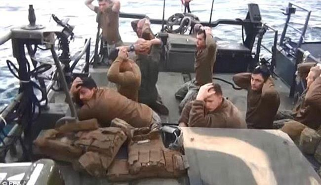 US Fires Captain of Sailors Detained by Iran in January